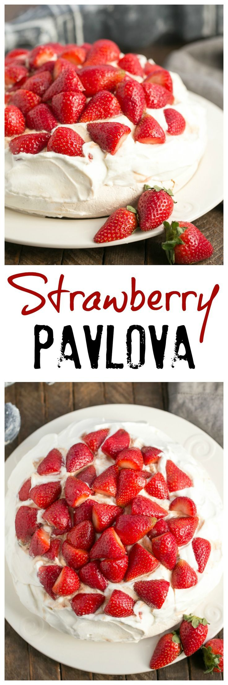 """Strawberry Pavlova 