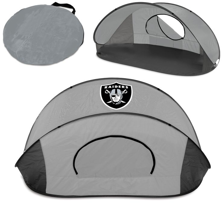Oakland Raiders Sun Shelter - Manta By Picnic Time