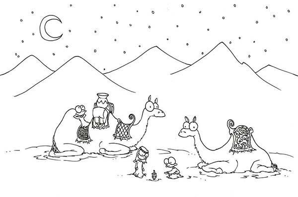 Sahara Desert Coloring Pages Coloring Pages Online Coloring Pages Coloring Pictures For Kids