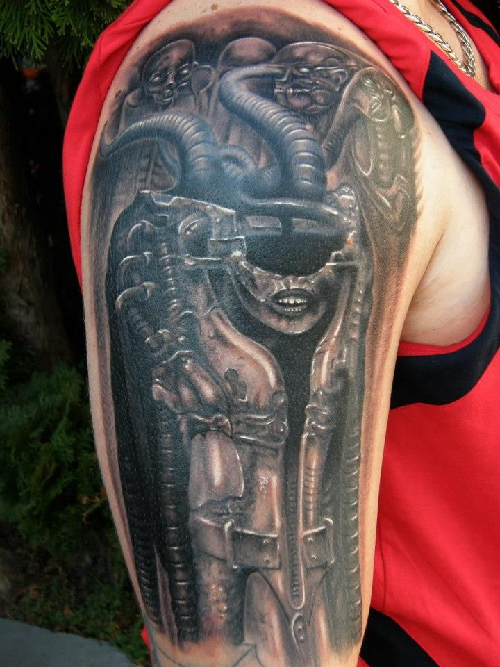 Gieger Tattoos Designs: 17 Best Images About Giger Tattoo On Pinterest
