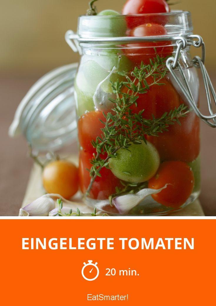Eingelegte Tomaten - smarter - Zeit: 20 Min. | eatsmarter.de
