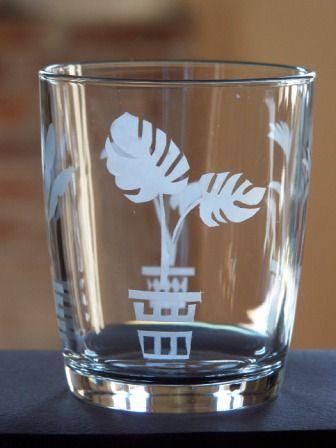 #stencil - Bicchiere della Nutella decorato  - @foodbookscrafts