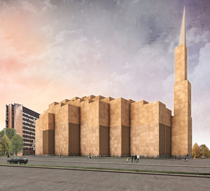 Central Mosque of Pristina Competition Entry / Dürig AG