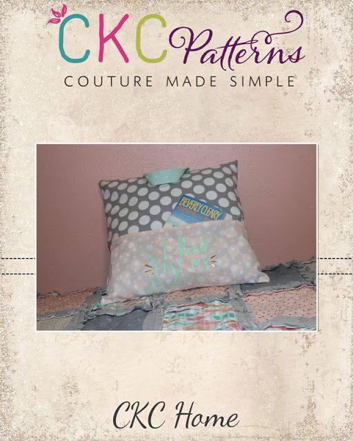 Create Kids Couture: 6th Day of Christmas: Book Pillow
