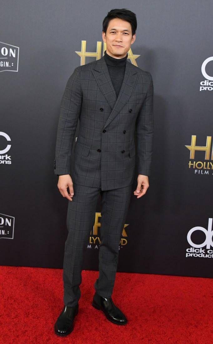 Harry Shum Jr From 2018 Hollywood Film Awards Red Carpet Film Awards Junior Hollywood
