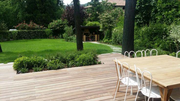 B SCAPE è uno studio di progettazione del paesaggio e delle aree verdi a Bologna– Giardino privato in villa storica