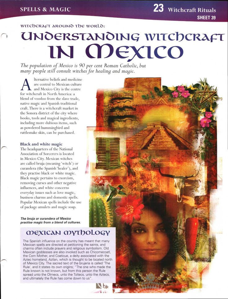 Witchcraft Around the World: Understanding Witchcraft in Mexico