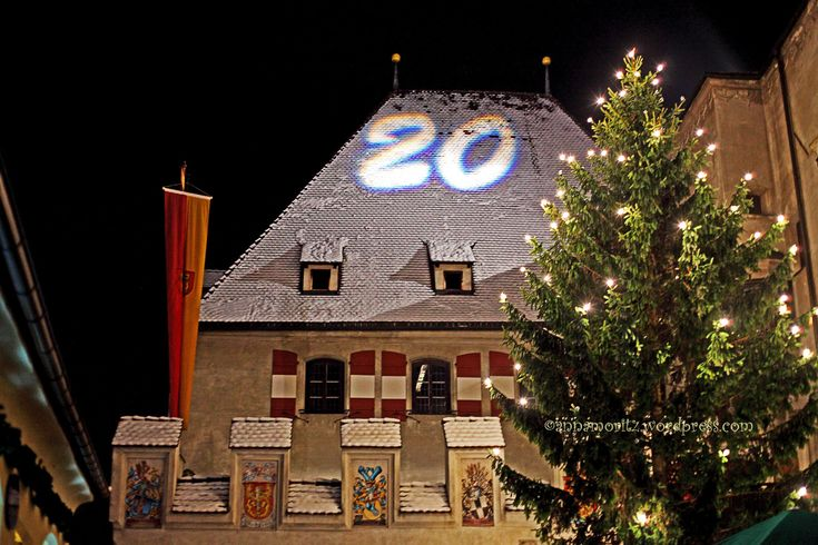 Christmas impressions from Hall in Tirol