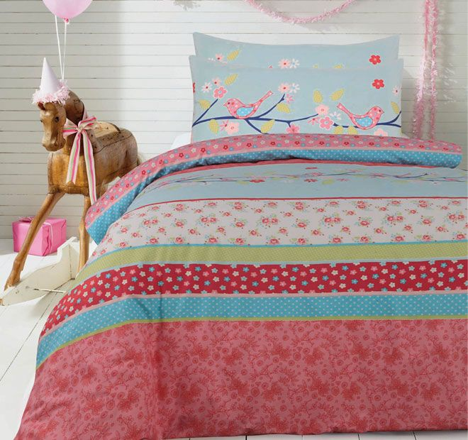 Ardor For Kids Tessa Quilt Cover Set Range Berry