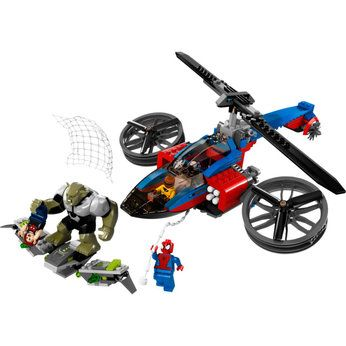 Lego Super Heroes Spider-Helicopter Rescue (76016)