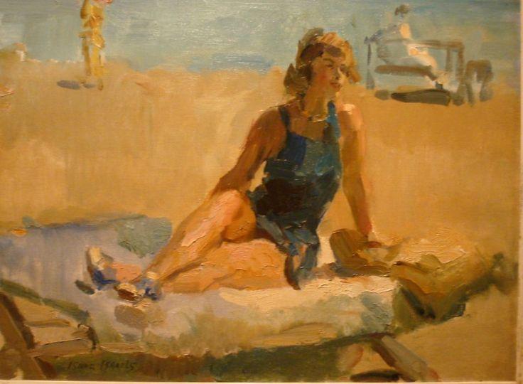 Isaac Israels - op het strand
