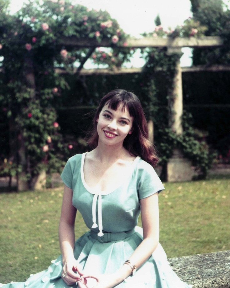 Leslie Caron-  Want to look fabulous in  vintage 50's clothing? Have an 18 inch waist!
