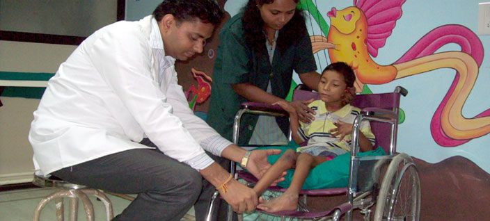 We organize health check up camps for children. Team of medical practioner headed over this camp. The doctor asses and counsel the patients & their parents. Also refer them to various Hospitals and Institutions to make them avail best of medical services.