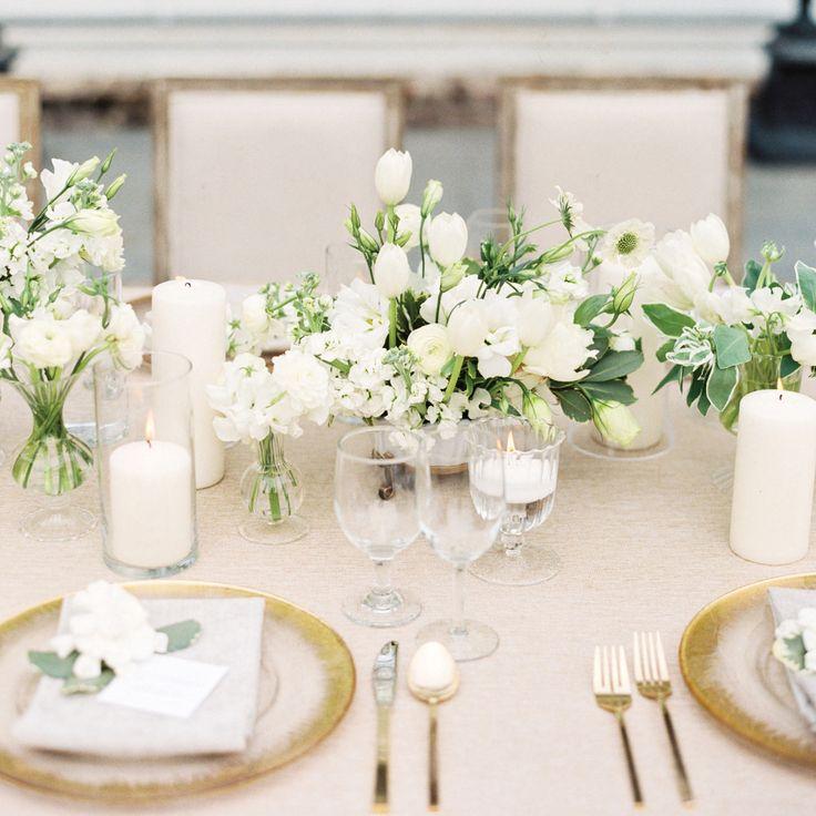 Amazing Gorgeous White Wedding Inspiration