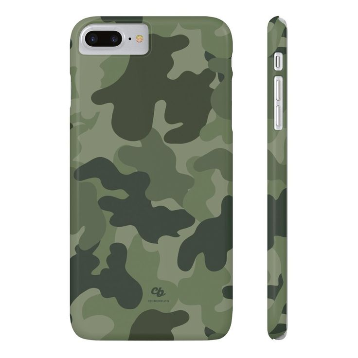 Army Green Camo Phone cases