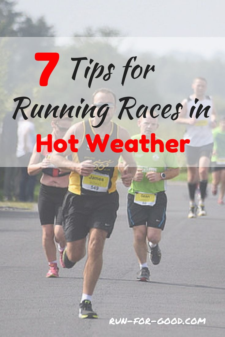 7 Tips for Running in Hot Weather forecast