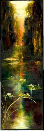 sundown. Angie Strauss
