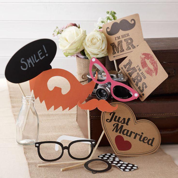 : Photo Booth Kit - Vintage Affair #HatchandBlossom
