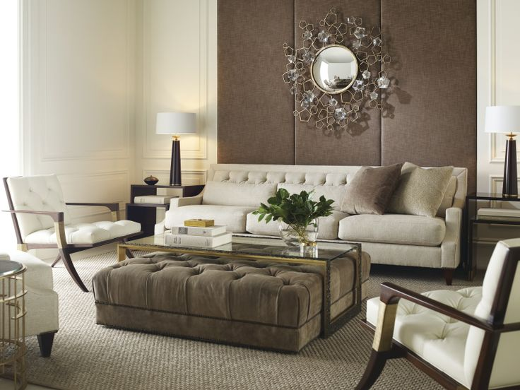 Thomas Pheasant Collection: Http://www.bakerfurniture.com/baker/1_1_1_0_coll_tph.jsp  | Tufting | Pinterest | Pheasant, Coffee Table Ottoman And Sitting ...