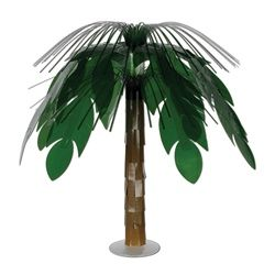 Use this centerpiece to decorate tables or rooms to around your location for #VBS The palm tree centerpiece is best used at a jungle or beach themed Vacation Bible School.
