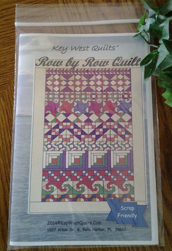 Row by Row Quilt Pattern