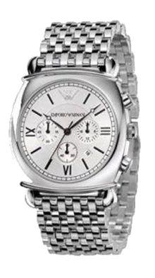 Emporio Armani Herren Chronograph  Armband Uhr AR0315