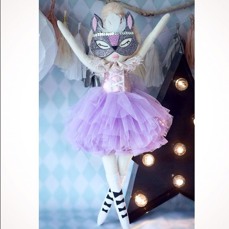 Sophia bunny rag doll ballerina