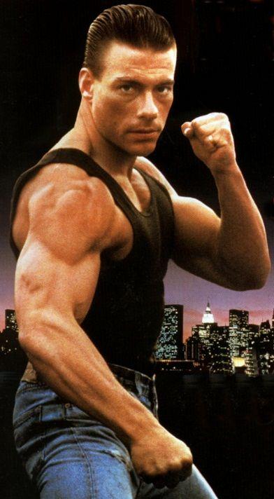 Jean Claude Van Damme. I grew up watching his movies. :)