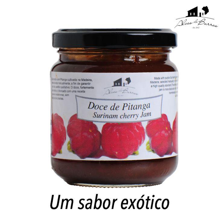 Doce de Pitanga - Surinam cherry Jam.  #madeira