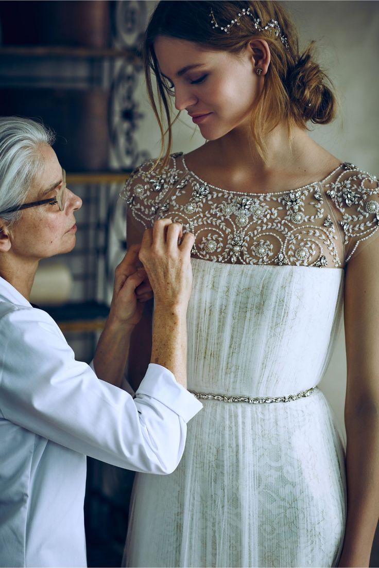 See the full collab here: http://www.whowhatwear.com/marchesa-bhldn-wedding-dress-collaboration