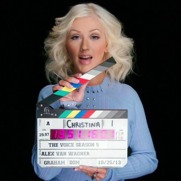 Christina Aguilera ~ The Voice