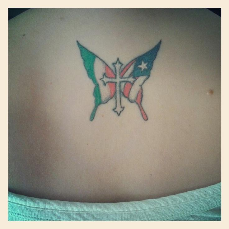 Italian/puerto rican flags | Ink | Pinterest | Tattoos ...