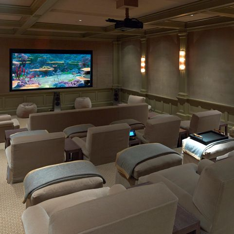 Projection design home cinema