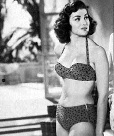 July 17, 1953 - Christiane Martel became the second Miss Universe