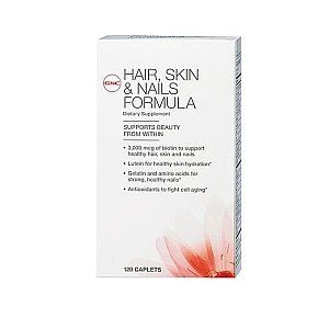 GNC Women's Hair, Skin & Nails Formula <3 This product works so well; I have only been using it for 2 1/2 months and I have seen a dramatic change in my hair, so happy and recommend this product!