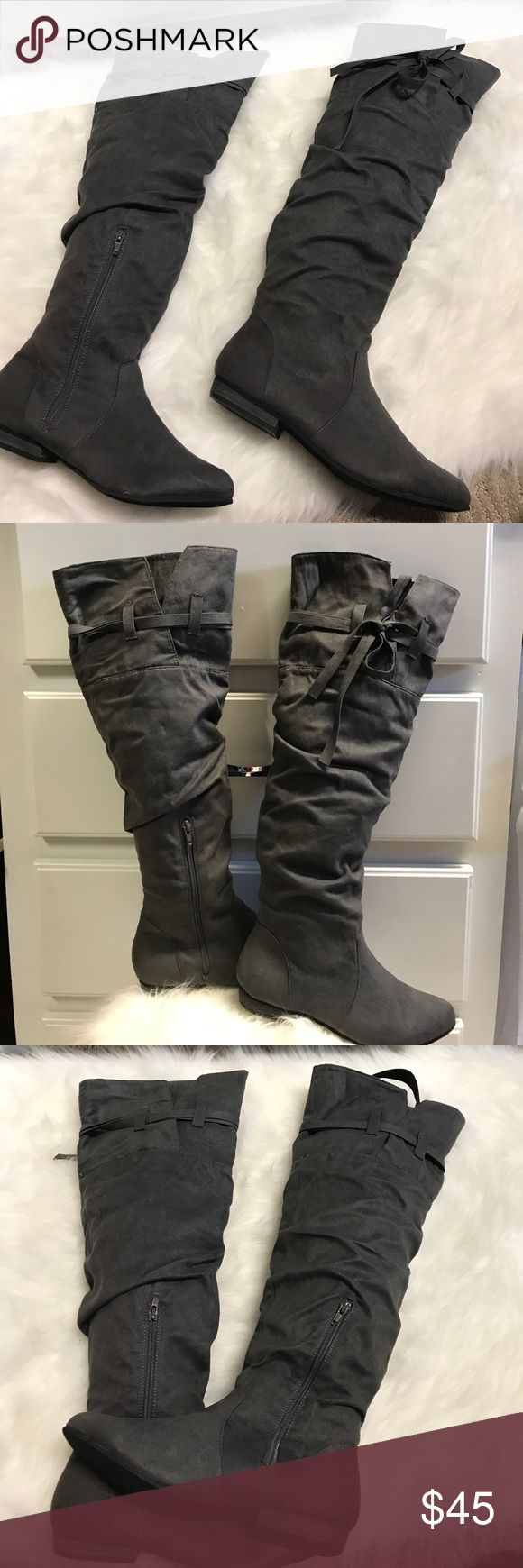 Not Rated OMG Over-the-Knee Boots Only worn once!!! With box! Not Rated OMG women's over the knee boots. Size 9 Not Rated Shoes Over the Knee Boots