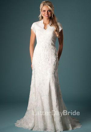 Modest Wedding Dress, Lorenzo | LatterDayBride & Prom