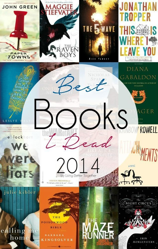 The best books I read in 2014 and why I loved them! Perfect inspiration for those looking to add to their 2015 reading lists!
