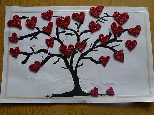 Creadivas Creatips   Heart card  Valentine's | Hart Kaart Valentijn | Tarjeta corazón San Valentín