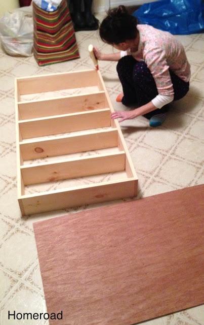 DIY Slide Out Pantry
