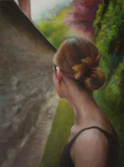 To know how to choose a path with heart is to learn how to follow intuitive feeling. Logic can tell you superficially where a path might lead to, but it cannot judge whether your heart will be in it.  ~ Jean Shinoda Bolen    Artist: Diane Ffeissel, The Path Chosen