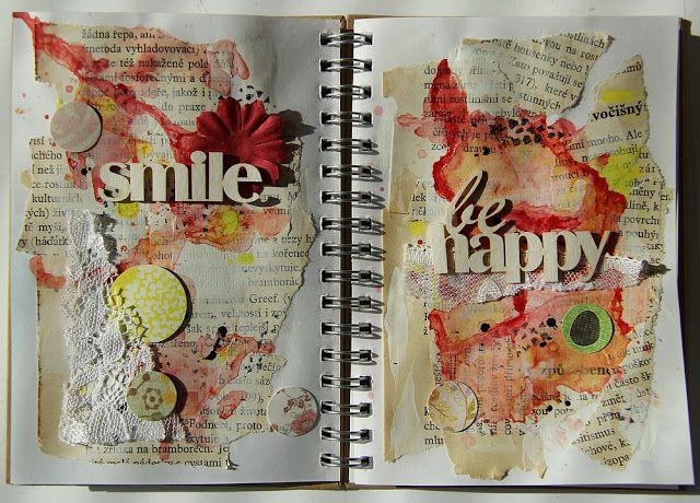 Môj papierový svet: Art jurnal