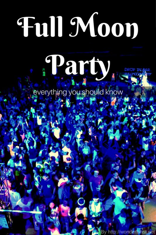 Everything you should know about the Full Moon Party. By http://wonderluhst.net