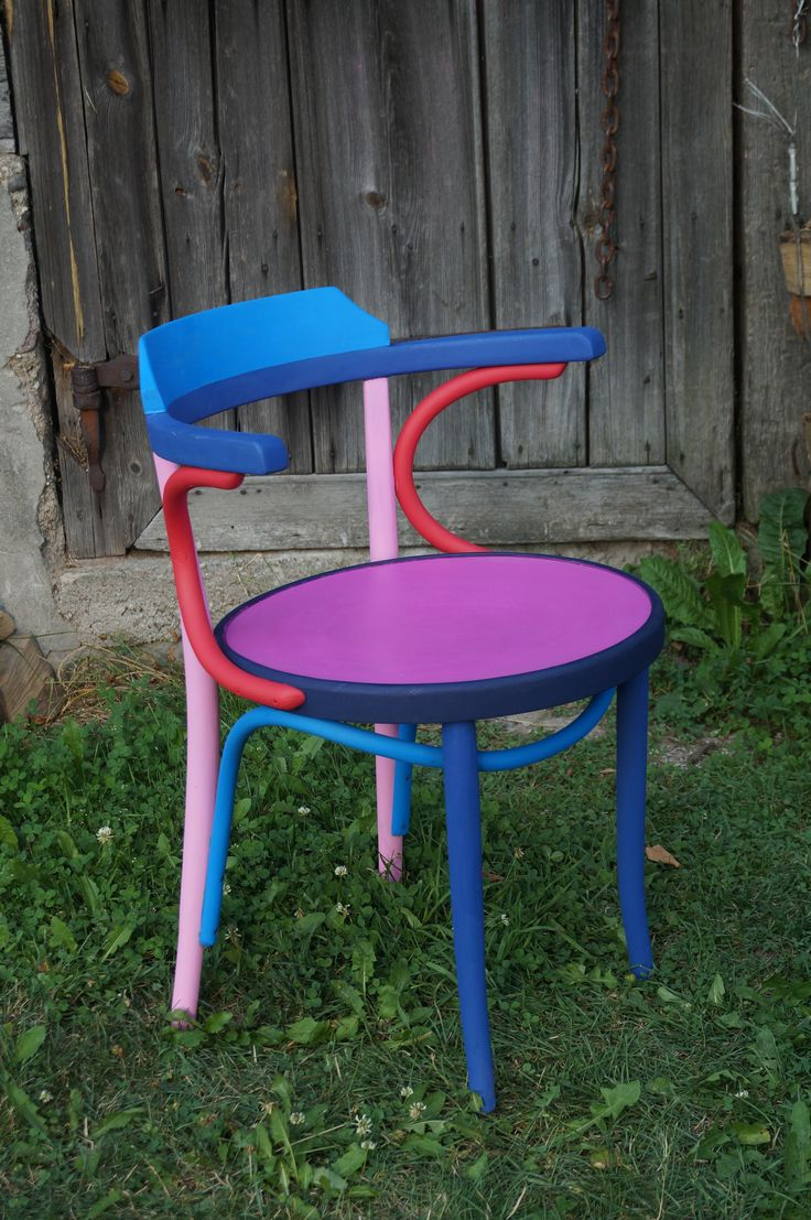 vintage chair- color