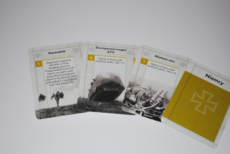 German Army cards in polish version