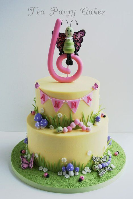 Spring Butterfly - by Tea Party Cakes