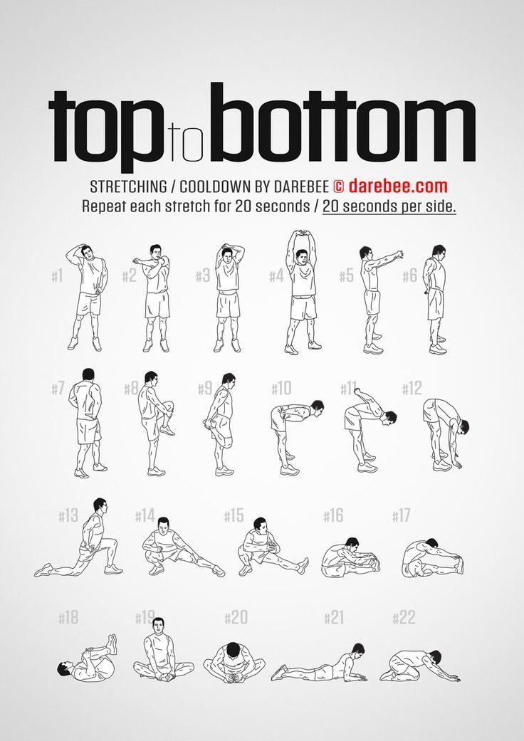 Training von oben nach unten – Abkühlen
