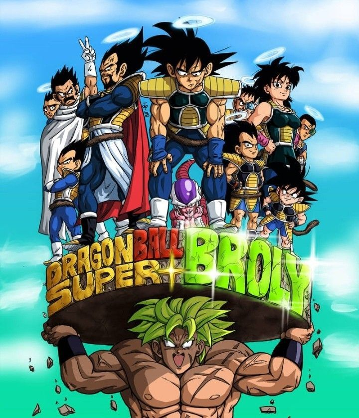 Dragon Ball Super Broly Movie My Blog Anime Dragon Ball Super Dragon Ball Art Dragon Ball Artwork