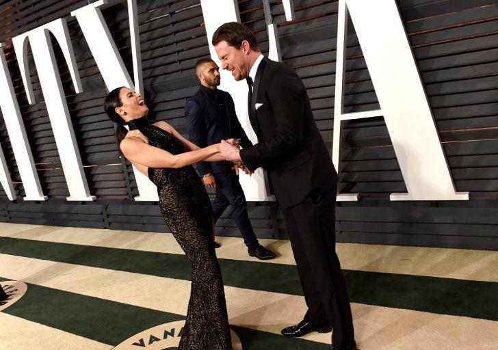 Pin for Later: Love is in the air: Diese prominenten Pärchen lassen Frühlingsgefühle aufkommen Channing Tatum und Jenna Dewan Tatum
