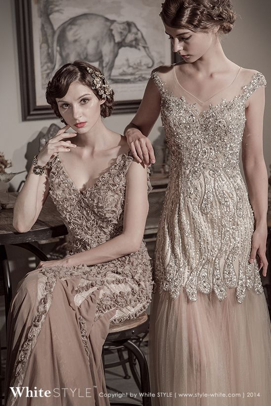 14 best 1920 39 s vintage wedding style 20 images on for 1920s vintage style wedding dresses